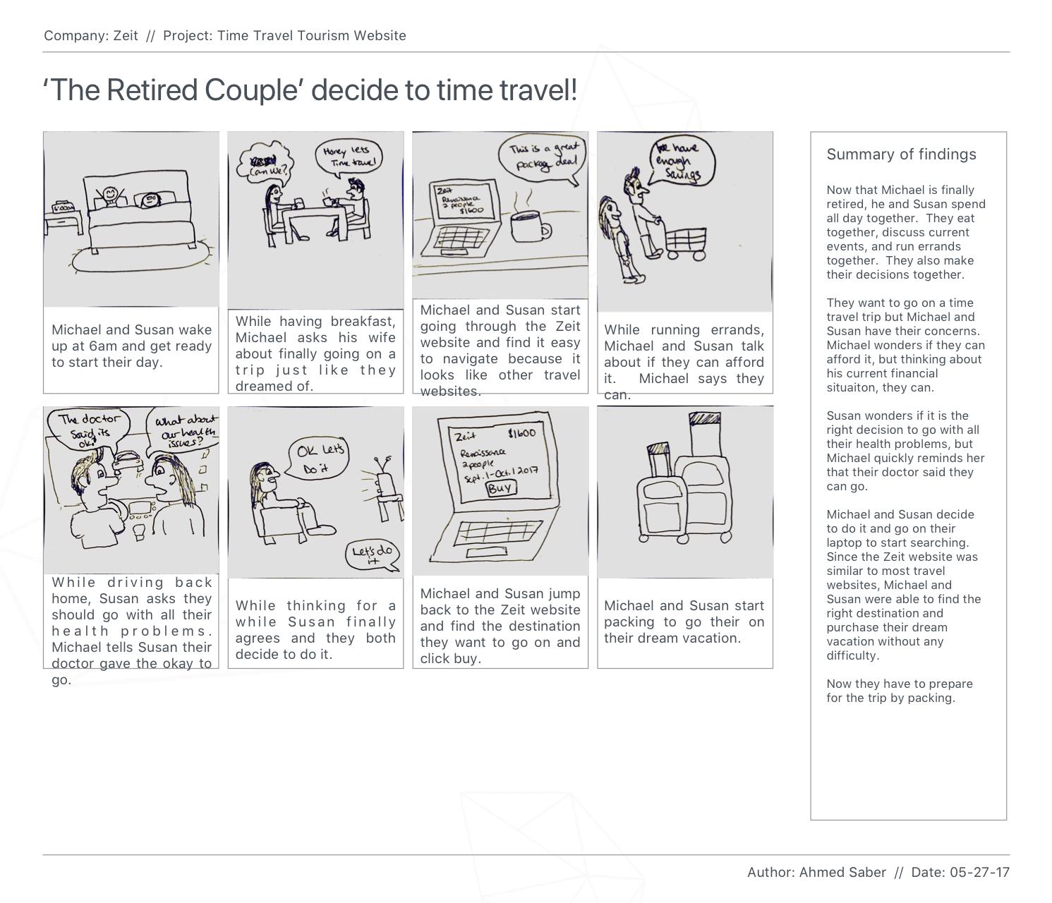 Zeit 1- Storyboard